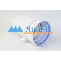 Ниппель для отвода конденсата d 100 мм горизонтальный/вертикальный  арт. 23663