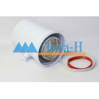 Ниппель для отвода конденсата d 80/125 мм, горизонтальный, арт. 26008