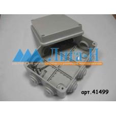 Коробка распределительная наружного монтажа 150х110х70 мм,IP 55, 10 гермовводов GE41242 аналог 41499  арт. 41499.1
